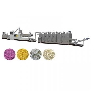 Enriched Reconstituted Nutrition Double Screw Artificial Rice Food Making Machine Processing Equipment Line