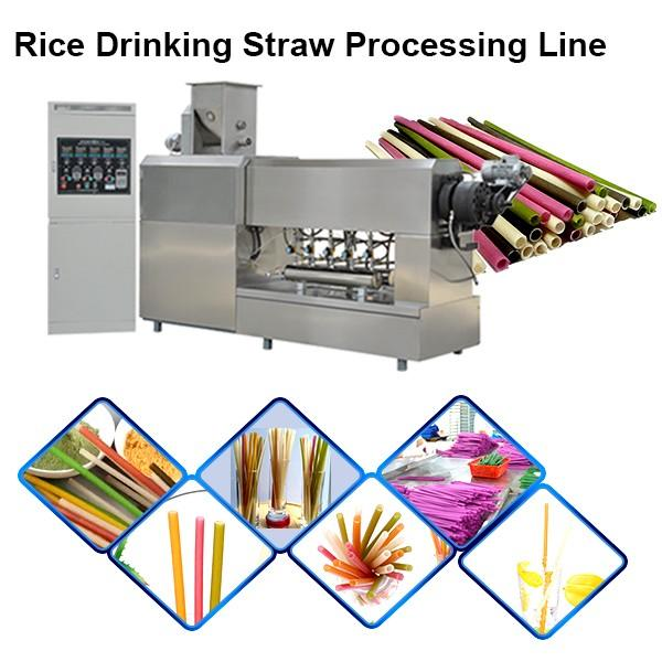 Biodegradable drinking straw processing line / machine / extruder