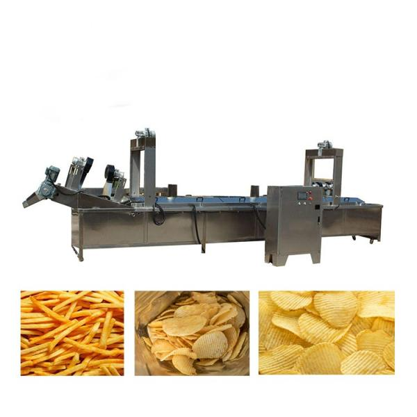 Automatic Potato Chips Puffed Snacks Making Machine Price Slanty Snack Bar Twin Screw Extruder Prices Puffed Corn Chips Snacks Food Making Machine